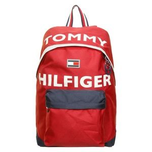 Red Tommy Hilfiger Hollis Backpack
